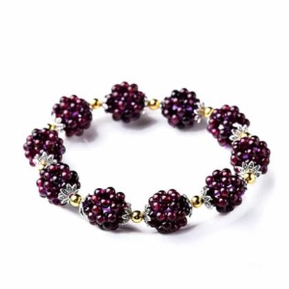 Natural Garnet Healing Bracelet