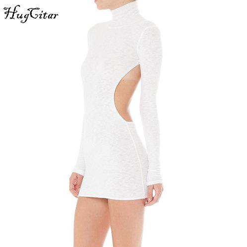 White open dress