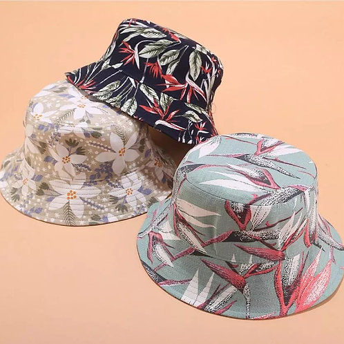 floral bucket hats