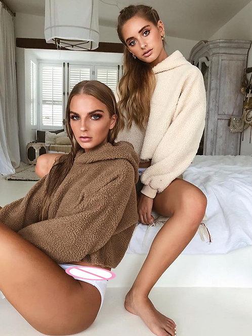 cozy soft hoodie