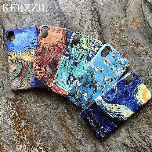 Matte Van Gogh iPhone cases