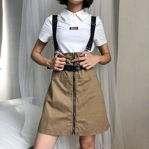 kaki dress