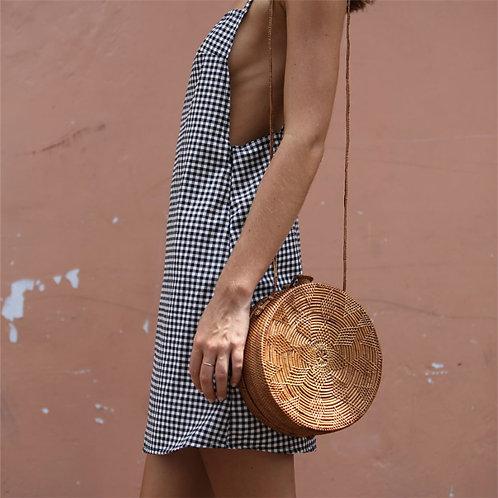 Free dress with Basket purse