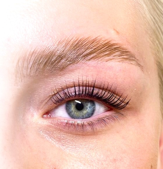 lash lift och browlift