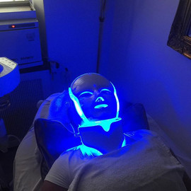 Welcome to the future. _NASA LED MASK  #