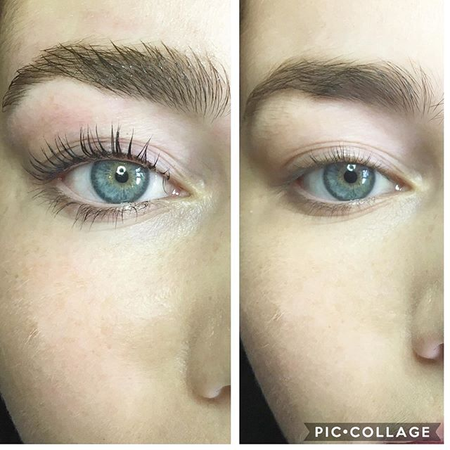 Lash lift & Brow lift on this beauty💗_B