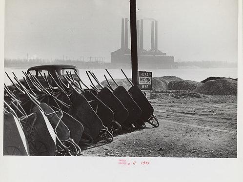 Riverfront, Saint Louis, Missouri (1939)