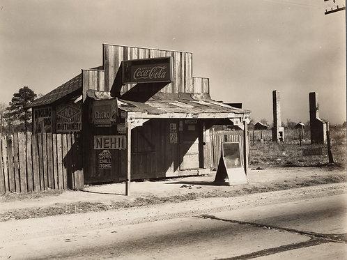 Coca-Cola shack in Alabama (1935)