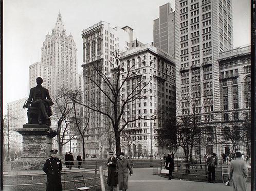 Madison Square looking northeast, Manhattan (1936)