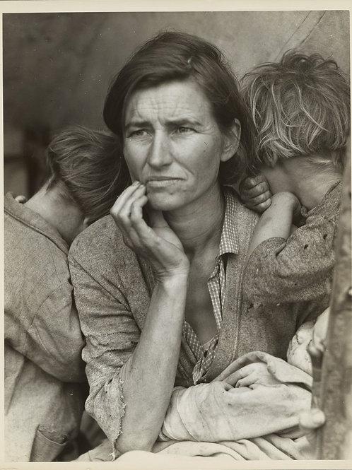 Destitute pea pickers in California (1936)