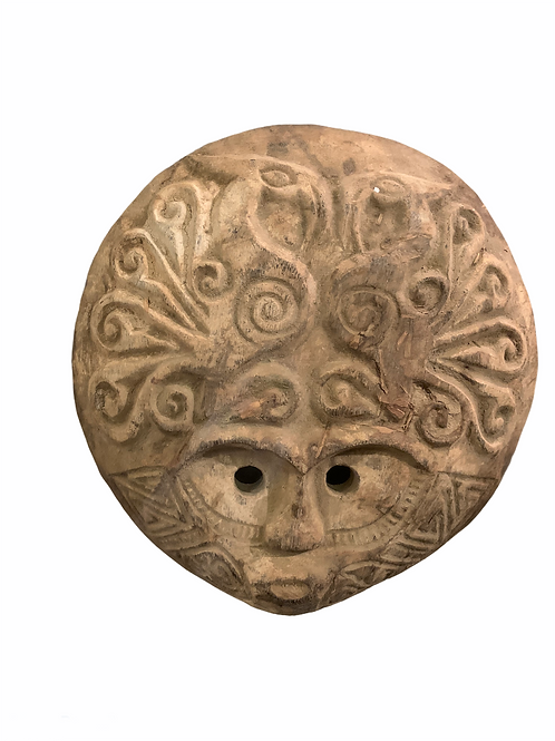 Wood Mask, Moluku Islands
