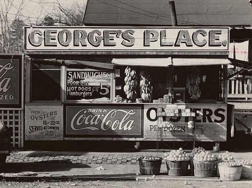 Roadside fruit. Ponchatoula, Louisiana   (1936)