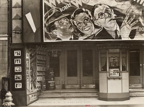 Movie theatre, New Orleans, Louisiana  (1935-36)