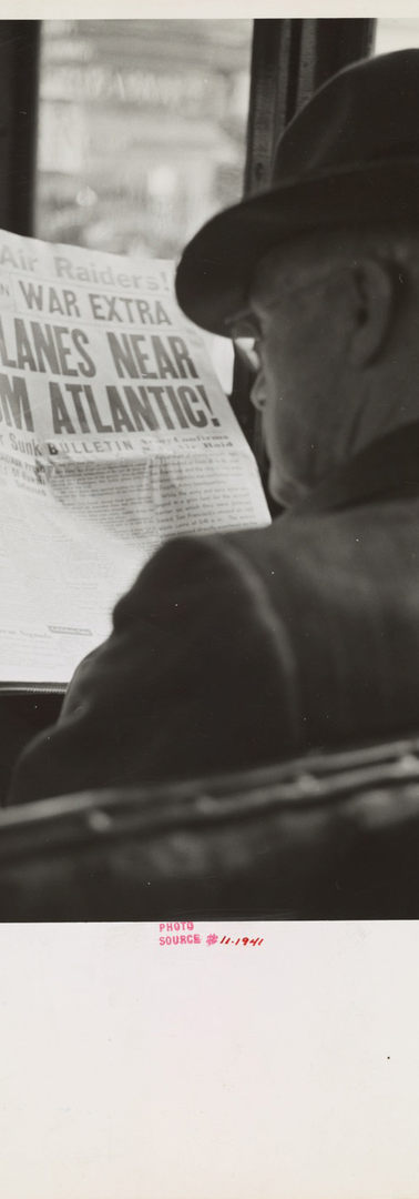 #5 John Collier_Reading war news aboard