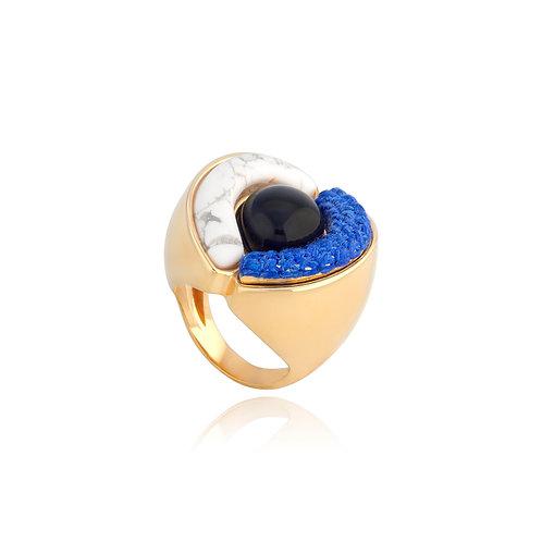 Anel Orfeu Azul PB