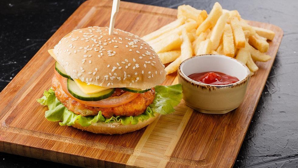 Бургер Чикен 320 г