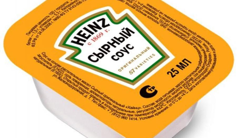 Соус Сырный Heinz 25 г
