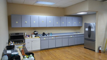 Cabinets up