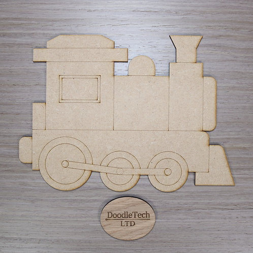 Large Detailed MDF Train