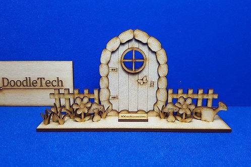 Wooden - 3D Fairy Door Kit