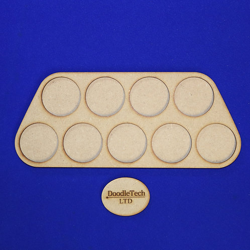 40mm Round - 4/5 - Cavalry Movement Trays