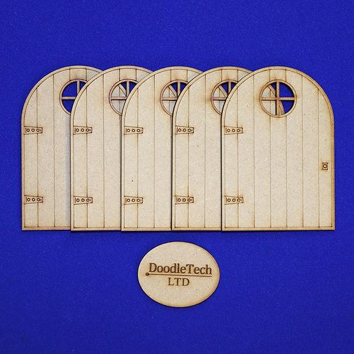 Wooden - Window Fairy Doors