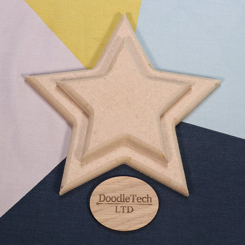 Star - Square / Rounded Edge 6, 12, 18mm MDF (100mm - 600mm)