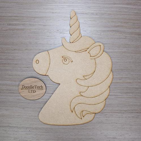 Large Detailed MDF Unicorn