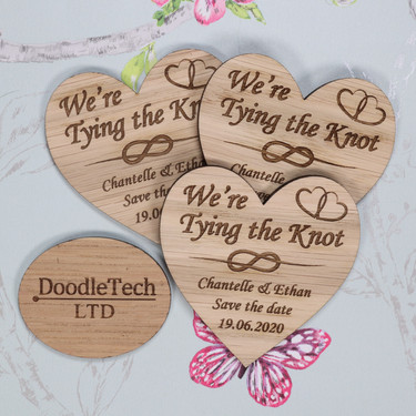 We're Tying The Knot - Save The Date 65m