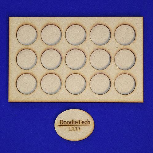 25mm Round - 5x3 - Movement Trays