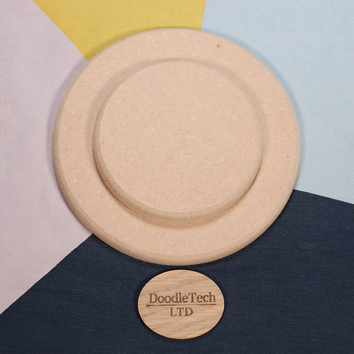 Circles - Square / Rounded Edge 6, 12, 18mm MDF (100mm - 600mm)