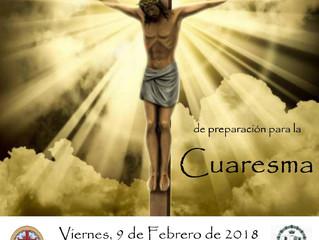 VIA CRUCIS PREPARACIÓN A LA CUARESMA 9 Febrero 20.30h