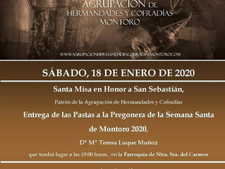 Misa a San Sebastián y Presentación de Carteles Semana Santa 2020