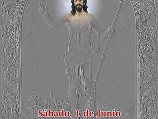 Bendición Retablo cerámico Stmo. Cristo Resucitado