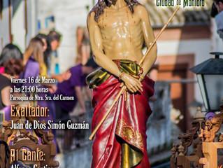 X Exaltación de la Saeta Ciudad de Montoro, 16 de Marzo