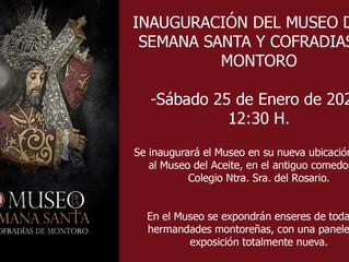 Inauguración del Museo de la Semana Santa y Cofradías de Montoro