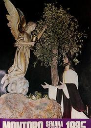 Cartel Seman Santa Montoro 1985