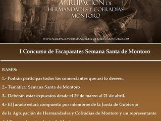 I Concurso Escaparates Semana Santa Montoro