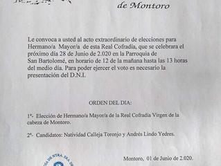 Elecciones C. Virgen de la Cabeza