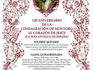120 Aniversario de la Consagración de Montoro al Corazón de Jesús