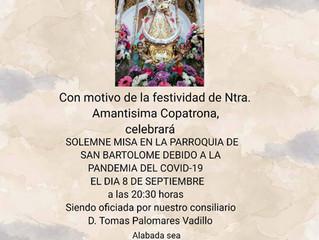 Misa en Honor a Ntra. Sra. de la Fuensanta