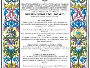 Actos Ntra. Sra. del Rosario 2020
