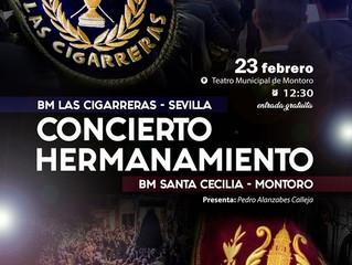 Concierto Hermanamiento 23 Feb | BM Santa Cecilia y BM Las Cigarreras