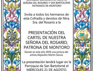 Presentación Cartel Ntra. Sra. del Rosario