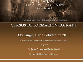Cursos de Formación Cofrade 2019