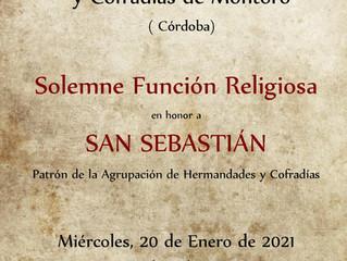 Función Religiosa en Honor a San Sebastián