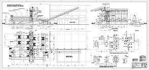 Progettazione e realizzazione disegni di installazione e part. costruttivi