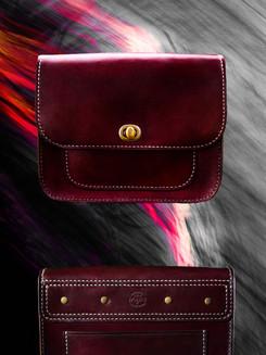 Mahogany Deluxe Handbag