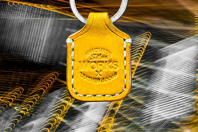 Yellow Standard Keychain