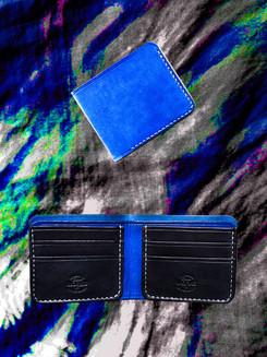 Blue + Black Bifold
